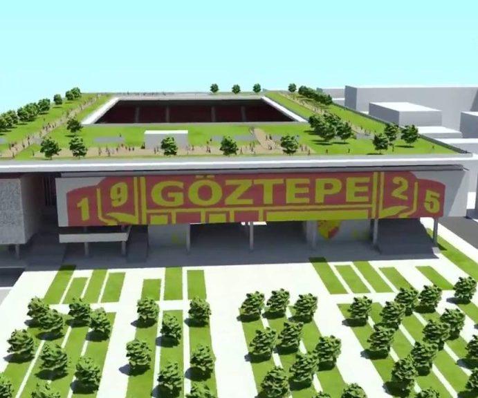 Göztepe'nin stadına kavuşması için 700 günü kaldı.