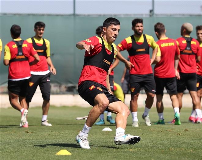 Göztepe Osmanlı maçına konsantre