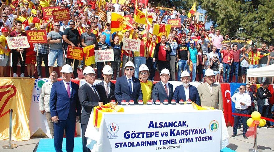 Başkan Sepil '' Yeni stadımız bize 550 günde teslim edilecek.''