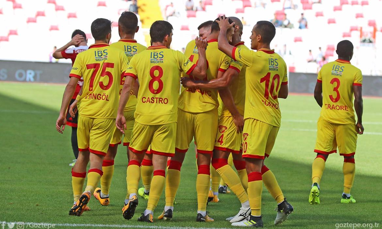 DG Sivasspor 2-3 Göztepe