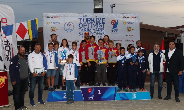 Türkiye Şampiyonu Göztepe Yelken
