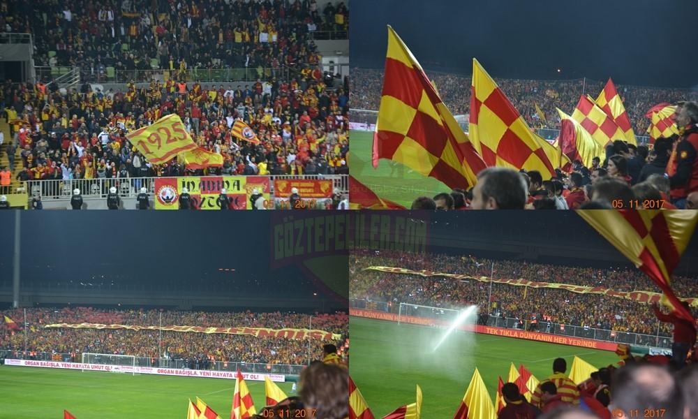 Göztepe taraftarları Bursa'ya akın ediyor!