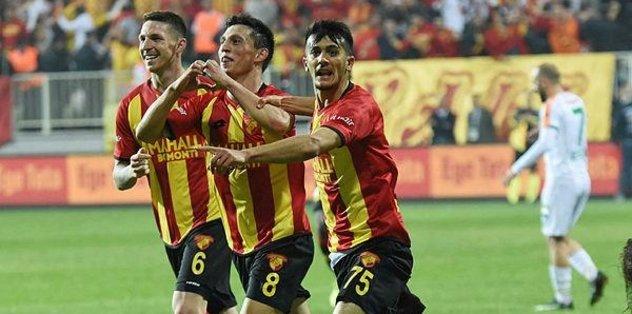 İzmir'de zorlu maç