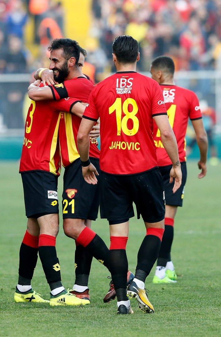 Göztepe'de sezon başındaki hedefin yarısına ulaşıldı