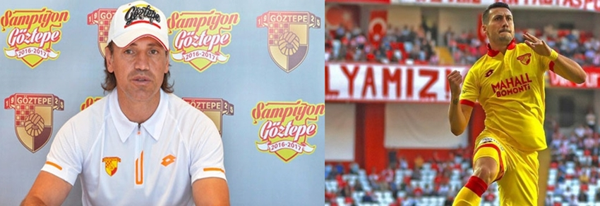 Göztepe'de yönetim Jahovic ve  Teknik Direktör Tamer Tuna ile  sözleşmeyi uzatmayı planlıyor.