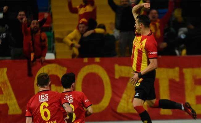 Jahovic atıyor, Göztepe kazanıyor
