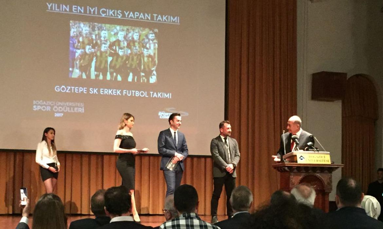 Boğaziçi Üniversitesi'nden Kulübümüze İki Ödül