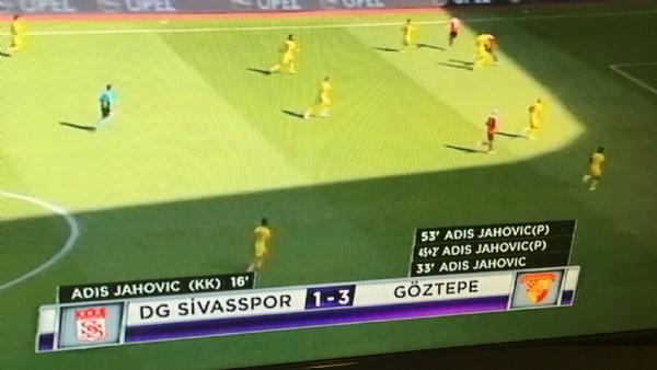 Süper Lig'de kaleler 12 kez şaştı .
