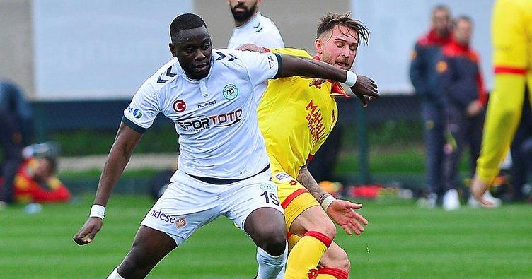 Göztepe ve Konyaspor Hazırlık Maçında Yenişemedi