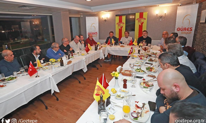 Başkanımız Mehmet Sepil, Teknik Direktörümüz Tamer Tuna ve yönetim kurulu üyelerimiz Basın Mensupları ile Bir Araya Geldi