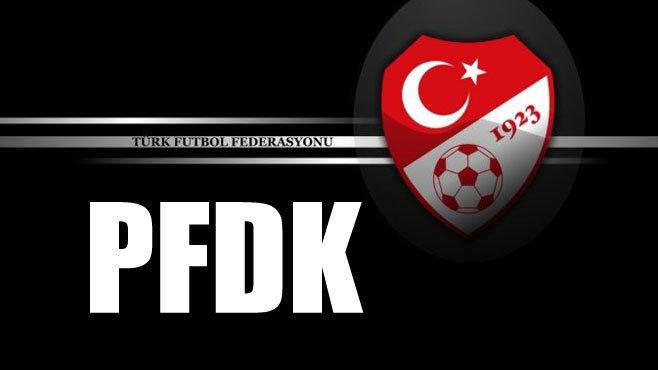 Türkiye Futbol Federasyonu Profesyonel Futbol Disiplin Kurulu'nun (PFDK) aldığı kararlar açıklandı.