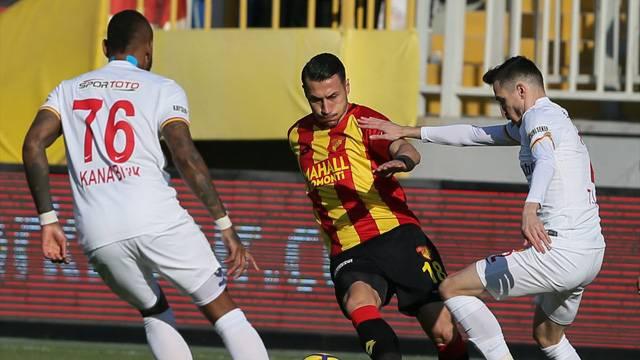 Göztepe 1 - 1 Kayserispor