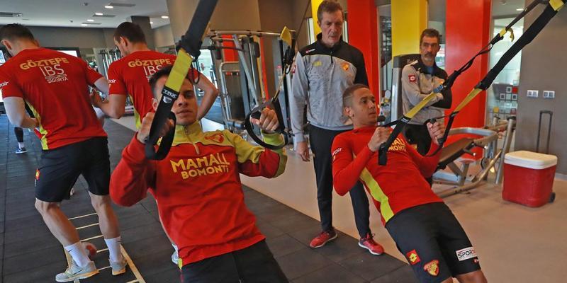 Trabzonspor Maçının Hazırlıklarını Tamamladık...