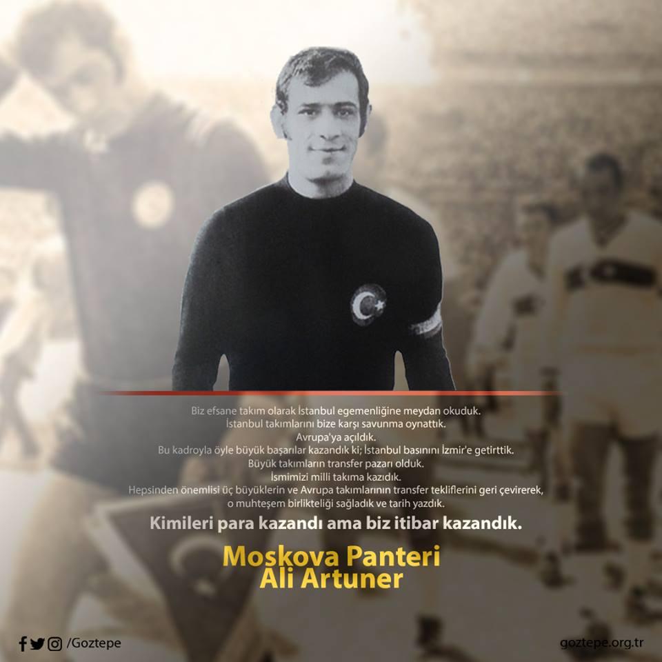 Moskova Panteri Ali Artuner'i vefatının 17. yılında özlemle anıyoruz.