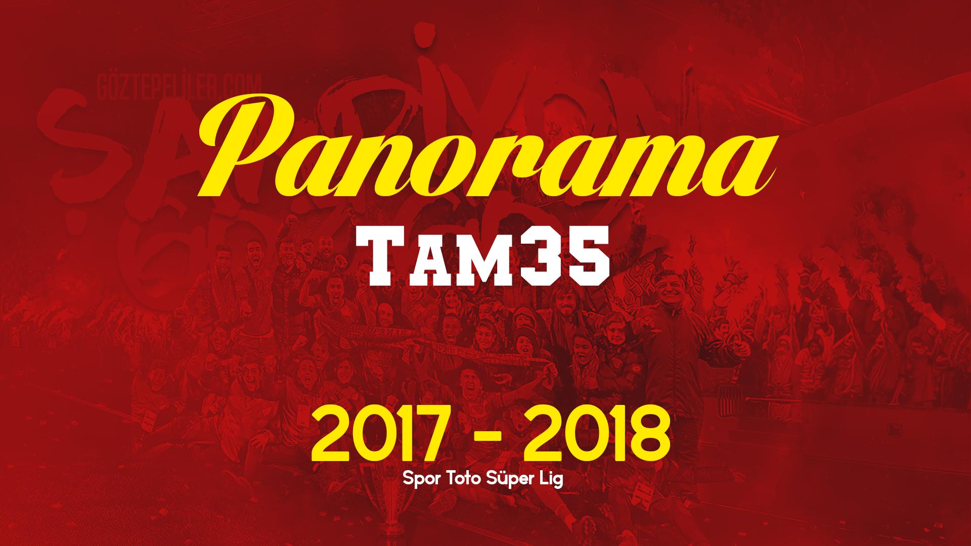 PANORAMA TAM 35 | NOTLAR