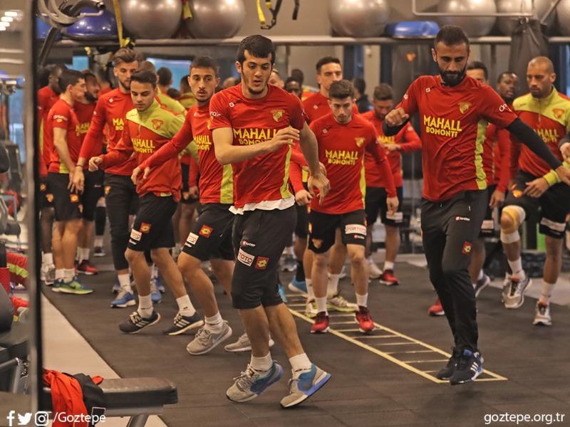 DG Sivasspor Maçının Hazırlıklarını Tamamladık
