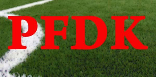 PFDK Kararı Ve Kulübümüzün Aldığımız Cezaya İlişkin Açıklaması....