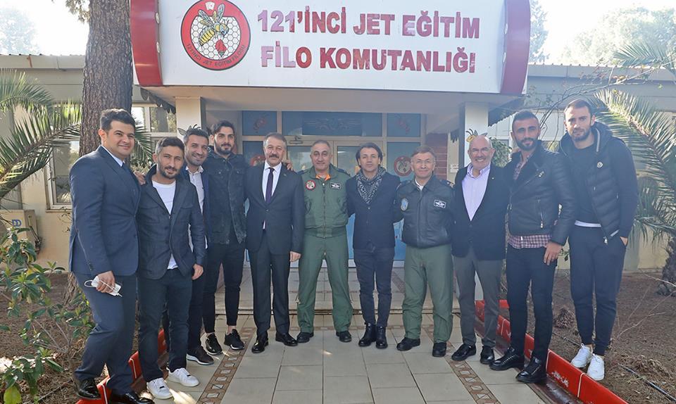 121. Jet Eğitim Filo Komutanlığı'nı Ziyaret Ettik