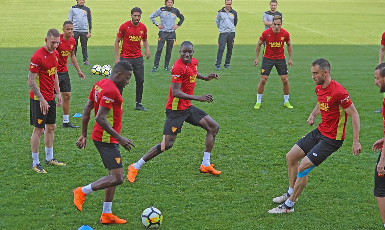 Bursaspor Maçının Hazırlıklarını Tamamladık