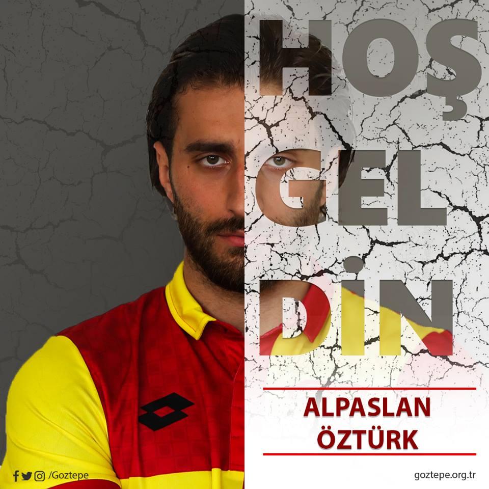 #Transfer: Alpaslan Öztürk Göztepe'mizde