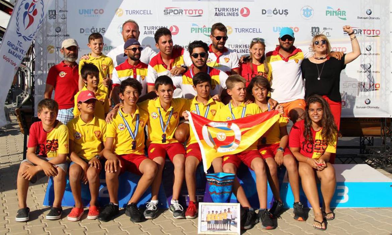 Göztepe Yelken Türkiye Şampiyonu