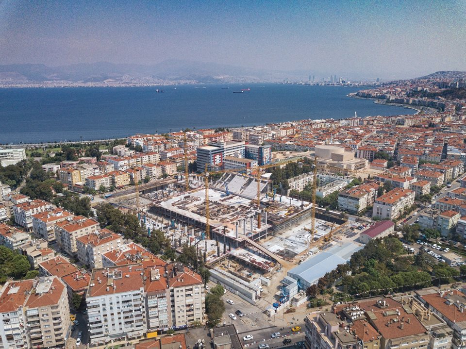 Göztepe'mizin stadı yükseliyor