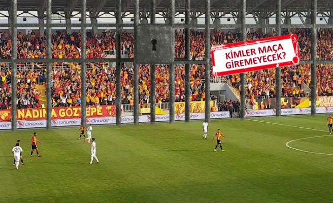 PFDK, Beşiktaş maçında Göztepe tribünlerine kilit vurdu!