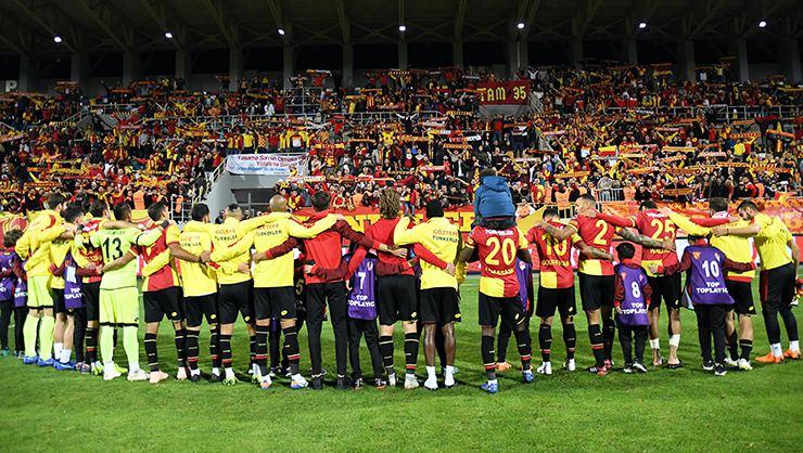 Süper Lig'de tribün lideri Göztepe!