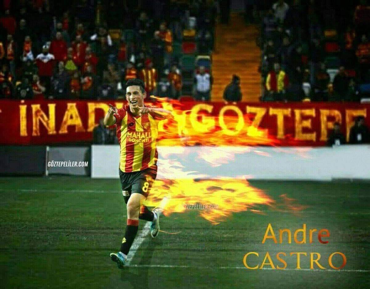 """Andre Castro: """"İzmir'in 1 numaralı kulübüyüz"""""""
