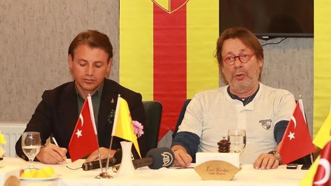 Göztepe'de Sepil'den o iddiaya yalanlama: İşin cılkı çıktı