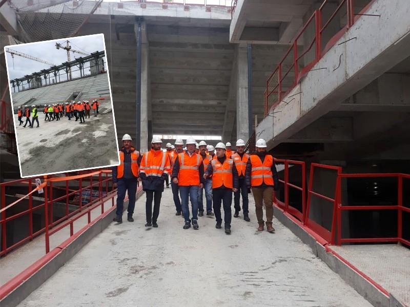 TOKİ'den Göztepe Gürsel Aksel Stadı'na ziyaret