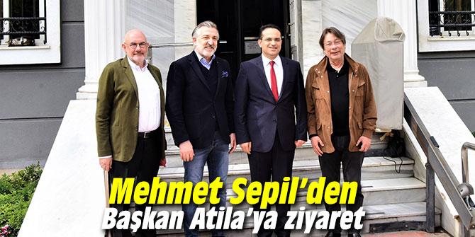 Mehmet Sepil'den Başkan Atila'ya ziyaret