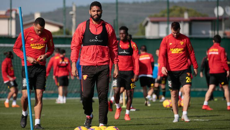 Göztepe'miz, Medipol Başakşehir maçı hazırlıklarını sürdürdü