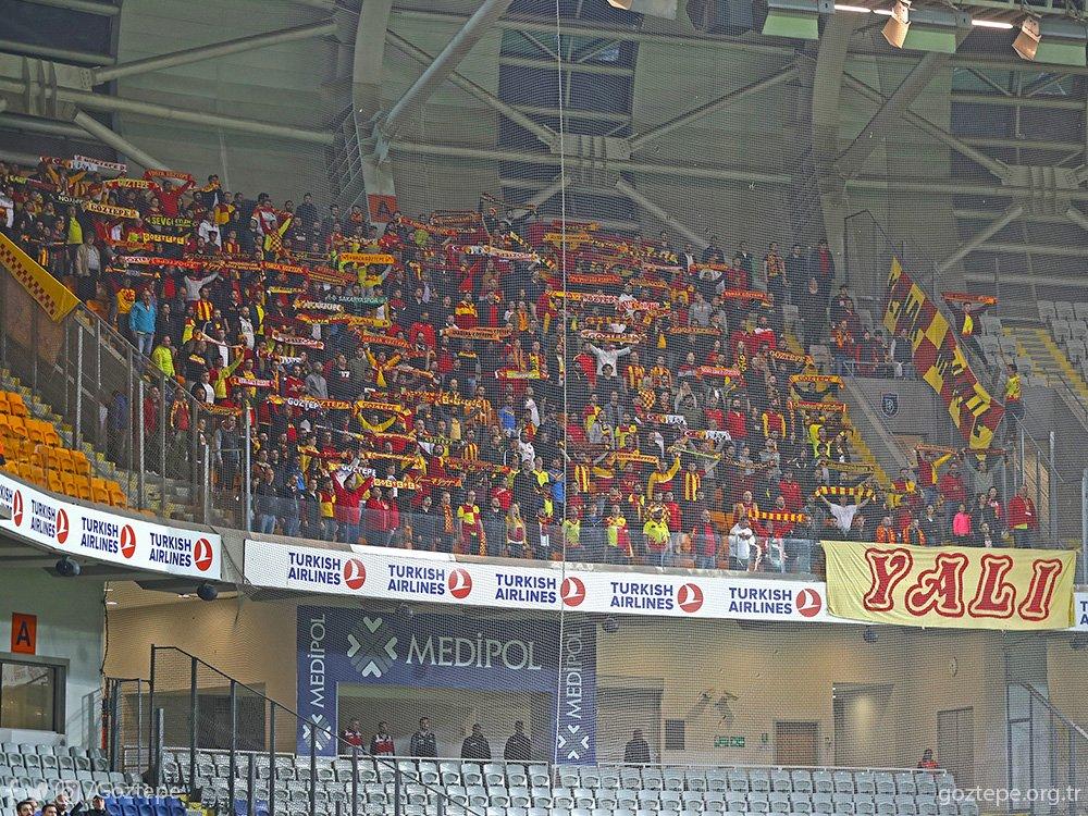 30. Hafta: M. Başakşehir 0-2 Göztepe'miz