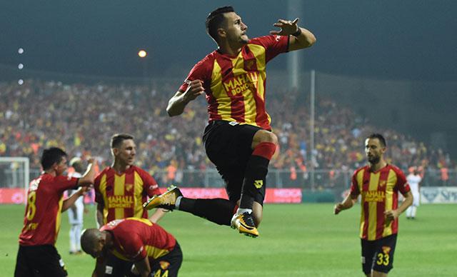 Göztepe'de golcüler istikrarlı olamadı