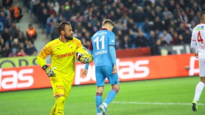 Göztepe'den Trabzonspor'a geçit yok