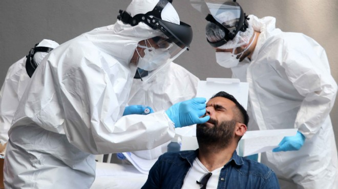 Göztepe'mizde futbolcular ve görevlilere Kovid-19 testi yapıldı
