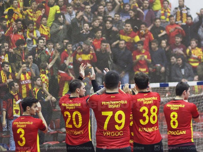 Göztepe-Beşiktaş Mogaz: 31-31