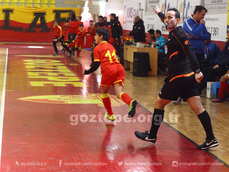 Fuat Göztepe Futsal Turnuvası'nın Kazananları Belli Oldu