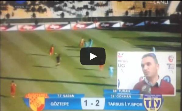 Özgür Zengin'in Tarsus İ.Y maçı sonu açıklaması
