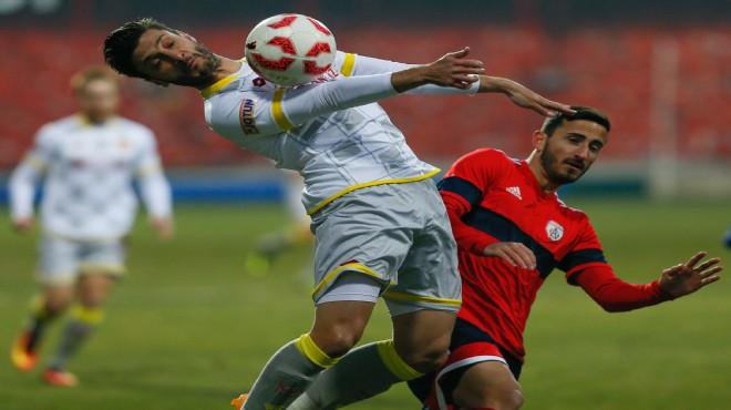 Göztepe İzmir derbisinde Jahovic'le güldü: 1-0